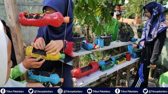 Ajak Anak Mengenal Pertanian dengan Eco School, Monitoring Kangkung dan Sawi Jadi Rutinitas Harian