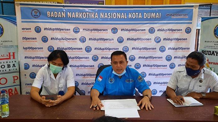 Kesadaran untuk Rehabilitasi Pecandu Narkoba Masih Rendah, Kepala BNNK Dumai Imbau Warga Melapor