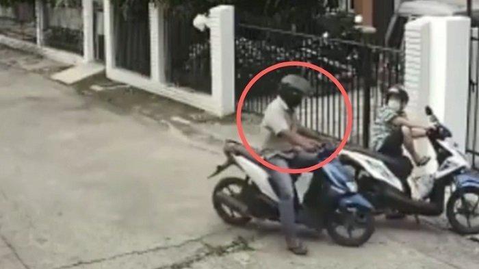 Pelaku Jambret Makin Nekat di Kota Padang, IRT yang Buka Pagar Rumah Jadi Korban