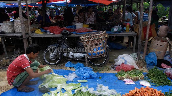 Pasar Kaget Beroperasi Lagi, Komisi ll DPRD Pelalawan Tagih Ketegasan Diskoperindag & Satpol PP