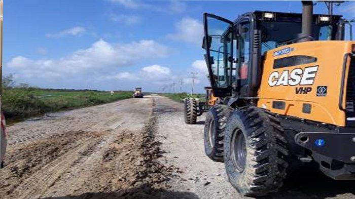 Kami Tak Keluar Duit lagi Bayar Pompong, Banjir Surut Jalan Koridor Langgam Riau Aktif