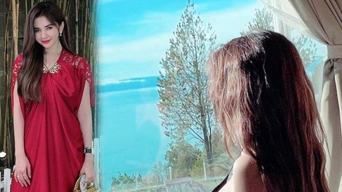 Aldira Chena Pakai Lingerie, Berpose di Kasur, Viewnya Bikin Penasaran, Jadi Pengen, Sugar Mom Nih