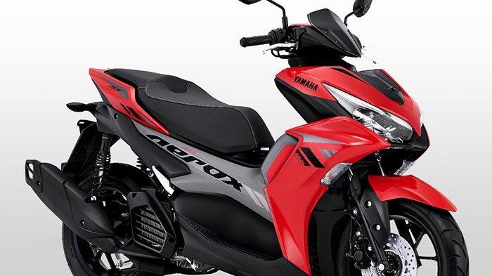 All New Aerox 155 Connected yang merupakan keluarga Maxi Yamaha