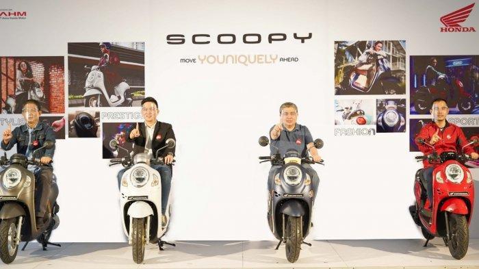 Harga OTR di Riau Mulai Rp 20.749.000, All New Honda Scoopy Hadirkan 4 Varian dan 8 Pilihan Warna