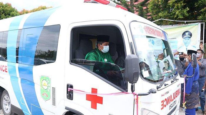 Curhatan Diperhatikan, Warga Kampung Belutu Bersyukur Dapat Bantuan Ambulans dari Bupati Siak