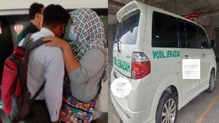 Ambulans Tiba Menjemput Satu Siswa yang Sedang Ujian Sekolah, Tangis Pecah Ternyata Jenazah Ayahnya