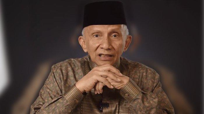Soal Investasi Miras, Amien Rais Senggol Wapres Maruf Amin, Ini Keliru!