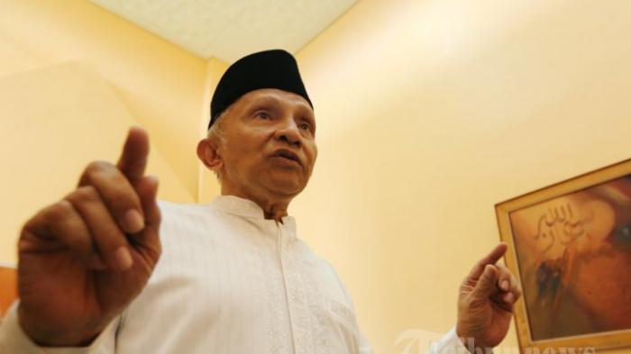 Amien Rais Kumandangkan 'People Power' Lagi, 'Kalau Sampai Prabowo Curang, Saya Gasak'