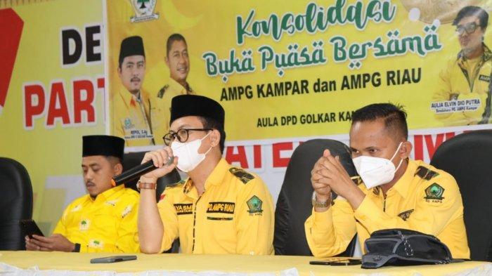 AMPG Provinsi Riau Laksanakan Konsolidasi Sekaligus Buka Bersama dengan AMPG Kampar