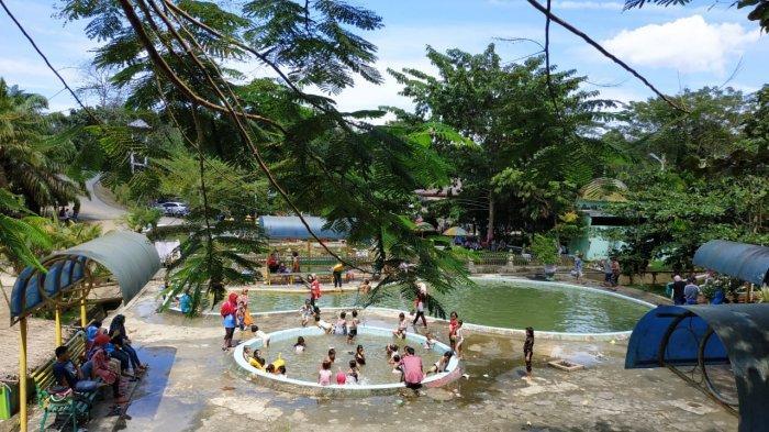 TRIBUN WIKI: Nikmati Alam di Objek Wisata Hapanasan, Air Panasnya Bisa untuk Terapi Kesehatan