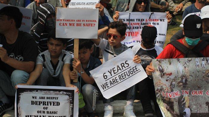 Puluhan Anak Imigran di Riau Sekolah Dibeberapa SD di Pekanbaru, Mulai Belajar Pertengahan September