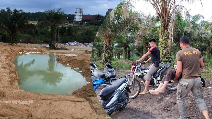 Siswa SD di Pelalawan, Riau Tewas Tenggelam, Jenazah Dafa Ditemukan oleh Petugas Damkar