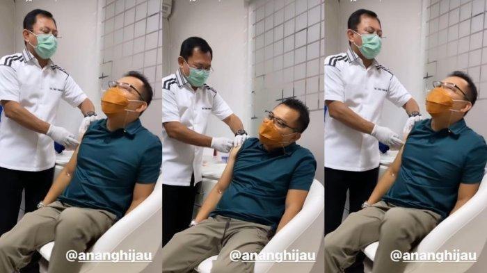 Disuntik Vaksin Nusantara oleh Dokter Terawan, Ashanty Tertawa Melihat Ekspresi Anang