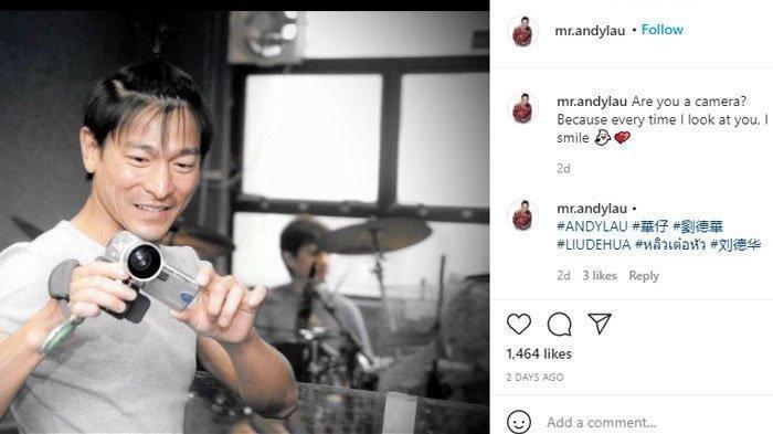 Potret Terkini Andy Lau:Gagah dan Tampan di Usia 60 Tahun
