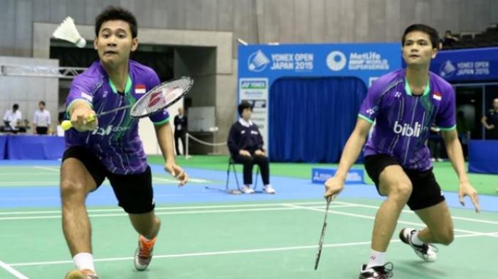 Hasil Japan Open 2018 Hari Kedua, Ganda Putra Indonesia Dihentikan Pasangan Denmark