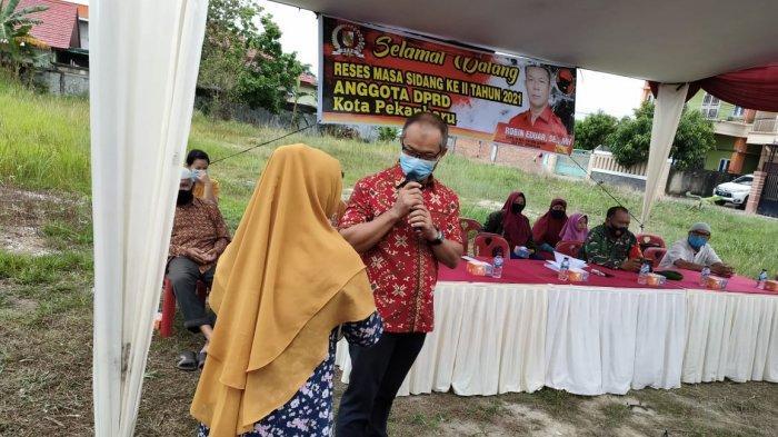 Anggota DPRD Pekanbaru Robin: Pemko Jangan Hanya Membangun Tenayan Raya