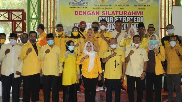 Anggota Fraksi Golkar DPRD Pekanbaru Hadir dalam Silaturahmi Pengurus DPD Golkar, Ini yang Dibahas