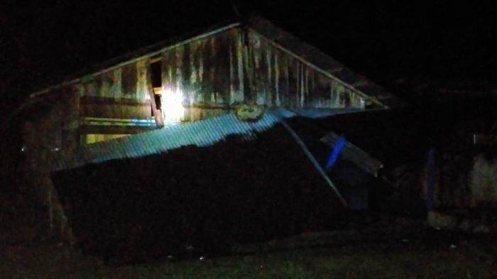 Angin Puting Beliung di Kampar Porak Porandakan Rumah Warga, 21 Rumah Rusak, Atap Beterbangan
