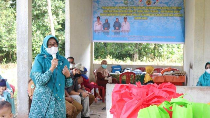 Angka Stunting Menurun 1,02 Persen pada 2020 di Kabupaten Siak