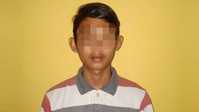 Aniaya Teman, Seorang Pemuda Ditahan Polsek Kampar Kiri Riau