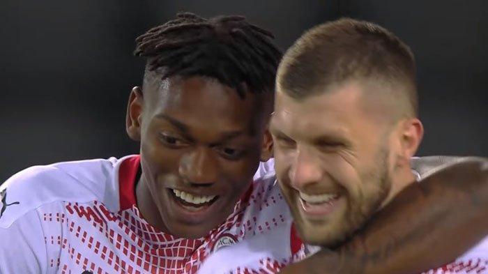 Liga Italia : Dasyat,  AC Milan Hancurkan Dua Klub Kota Turin dengan10 Gol, Ante Rebic bikin Kagum