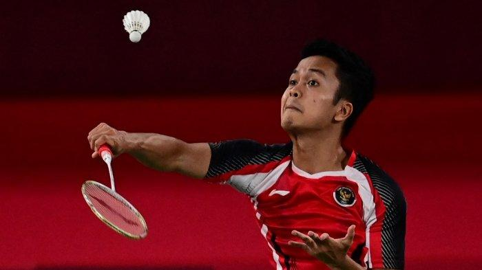 Hasil Piala Thomas 2021 Indonesia vs Thailand: Anthony Ginting Kalah