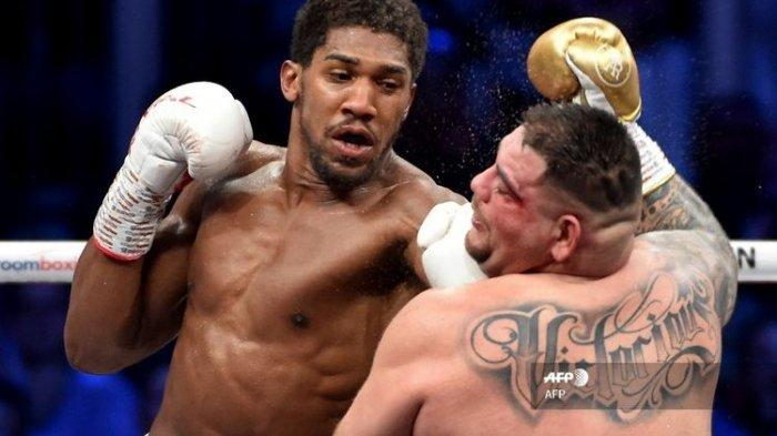 JADWAL LIVE Tinju Tyson Fury vs Anthony Joshua:Mike Tyson, Alvares, Foreman Punya Prediksi Berbeda