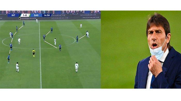 Formasi 3-5-2 & Sabar Menunggu, Beginilah Taktik Conte Hingga Bawa Inter Milan Juara Liga Italia