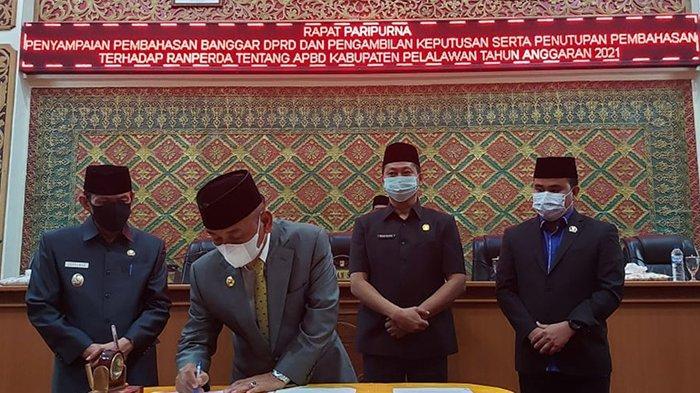 Februari Bisa Digunakan, APBD Pelalawan 2021 Dievaluasi Pemprov Riau