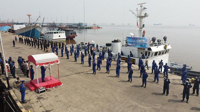 Waduh Ada Apa,Ya? 7 Kapal Bea Cukai dan Polisi Mondar Mandir di Perairan Riau,Ternyata Ini Tujuannya