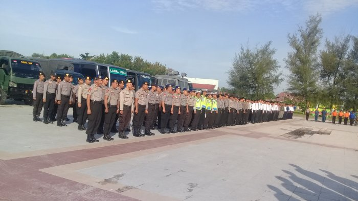 440 Personel Pengamanan Siap Kawal Idul Fitri 1438 H di Dumai