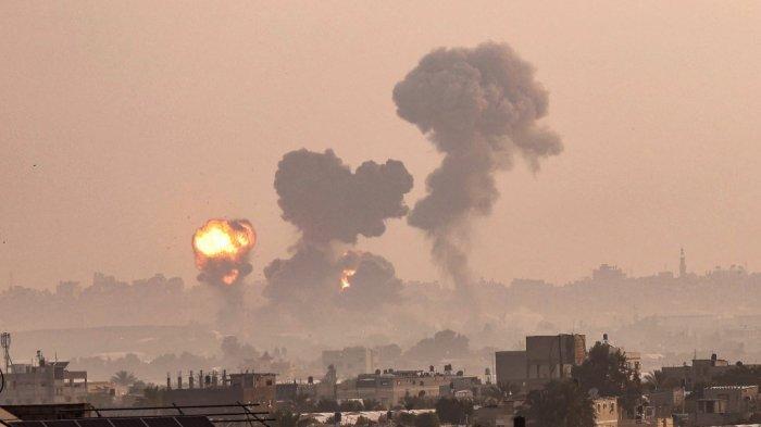 Tiada Henti, Zionis Isrel Terus Bombardir Jalur Gaza, Ratusan Warga Palestina Jadi Korban