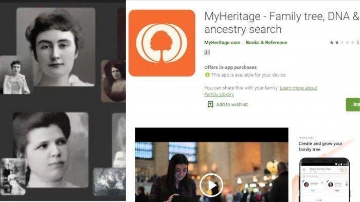 Ini Dia Aplikasi untuk Edit Foto Orang Meninggal Jadi Bergerak yang Lagi Viral, Download MyHeritage