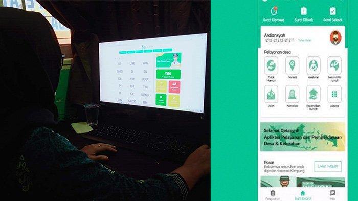 Desa Sungai Petai Percaya Diri Hadapi Digitalisasi: Luncurkan Aplikasi,Wujudkan Indonesia Terkoneksi