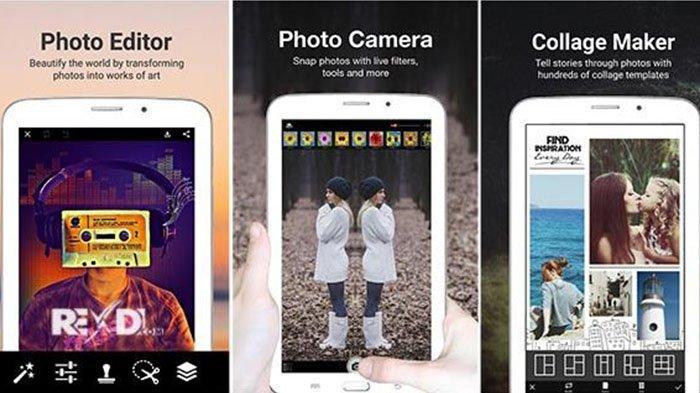 Kumpulan Aplikasi Edit Foto untuk Handphone, Full Unclok Premium, Gampang Digunakan