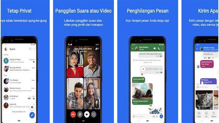 Link Download Aplikasi Telegram, Signal dan BIP, Aplikasi Berbagi Pesan Gantikan WhatsApp