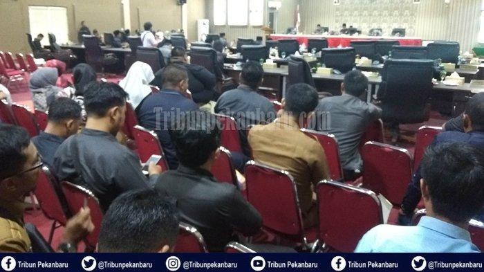 Ardiansyah Jadi Ketua DPRD Kepulauan Meranti Periode 2019-2024, Fauzi Hasan Berhalangan Hadir
