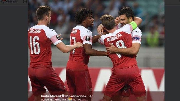 Hasil Babak Pertama Arsenal Vs Fulham 1-0 untuk Keunggulan The Gunners, Poin Arsenal Dekati Chelsea