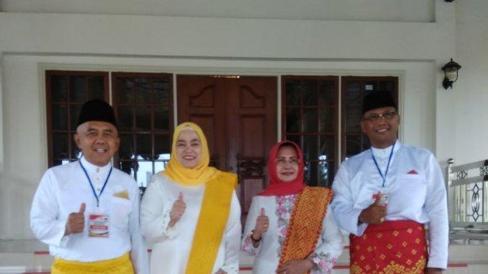 Andi Rachman-Suyatno akan Didampingi Istri saat Daftar ke KPU Riau