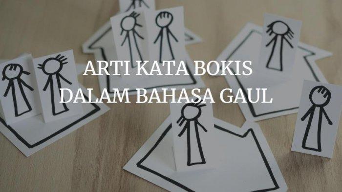 Apa Itu Bokis Dalam Bahasa Gaul Atau Arti Bokis, Terkait Sama Kelakuan Seseorang