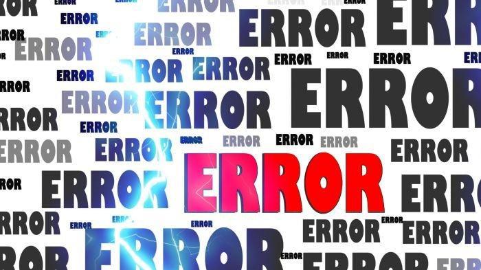 Ati Kata Error, Apa Arti Error, Error Dalam Bahasa WhatsApp, Instagram, Facebook dan Viral Twitter