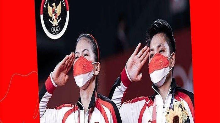 DERETAN Bonus yang Didapatkan Greysia Polii & Apriani Usai Menang Olimpiade 2020