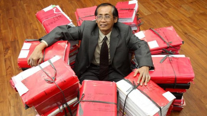 Algojo Para Koruptor, Ternyata Cuma Segini Harta Kekayaan Artidjo Alkosta 18 Tahun Jadi Hakim Agung
