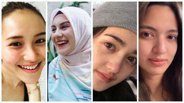 4 Artis yang Dipuji Cantik Tanpa Make Up, Ayu Ting Ting, Irish Bella hingga Nia Ramadhani,Menurutmu?
