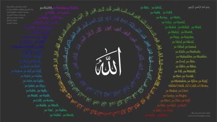 Tulisan Arab Beserta Arti, Berikut Keutamaan Membacanya 99 Asmaul Husna (Nama Allah)