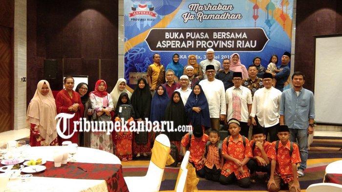 Asperapi Riau Gelar Buka Puasa Bersama, Santuni Belasan Anak Yatim Al Ilham Pekanbaru