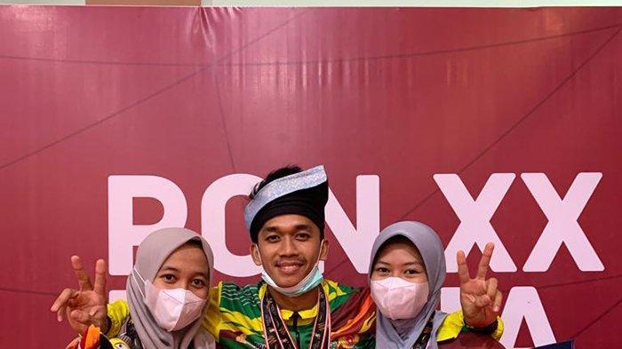 Si Bungsu Baru 16 Tahun,Tiga Bersaudara Asal Bengkalis Sumbang 4 Emas untuk Riau di PON 2021 Papua