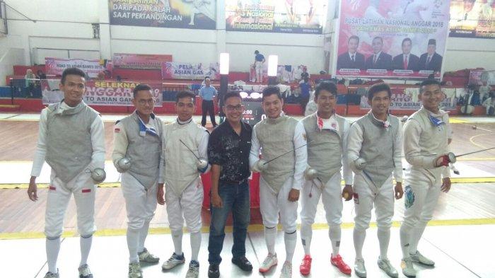 Atlet Anggar Riau Fokus Latihan Jelang Kejurnas 2018 di Yogyakarta