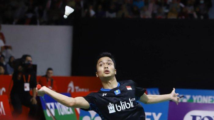 Link Live Streaming Semifinal Thailand Open 2021, 4 Wakil Indonesia Main, Anthony Ginting vs Axelsen