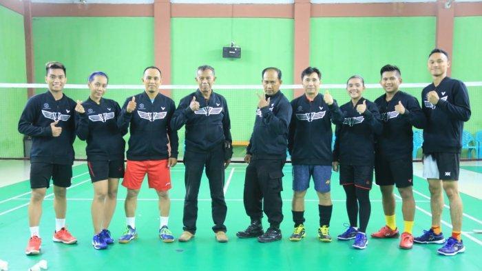 Cabor Bulutangkis Riau Bawa 6 Atlet ke PON 2021 Papua,Target Tak Muluk: Bawa Pulang Medali